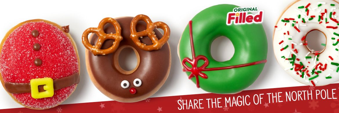 Christmas Doughnuts Krispy Kreme Canada